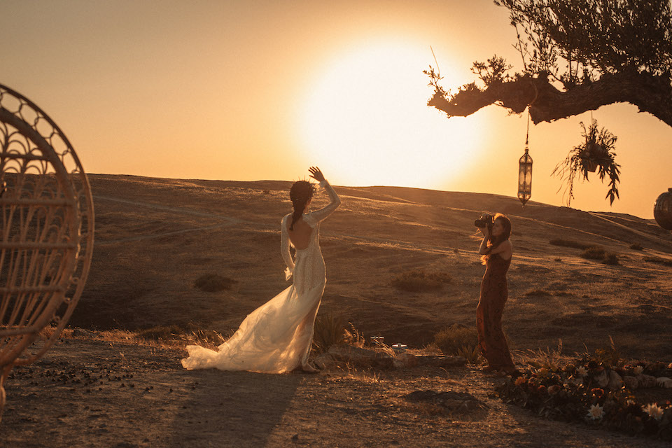 Wedding in the desert